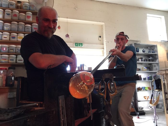 Friday Flashback - Glass Blowing