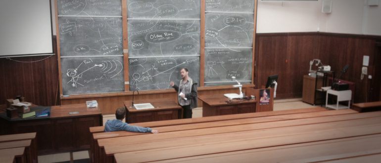 Friday Flashback – Professor Bourne in action…