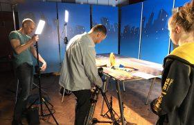 Back in the studio…