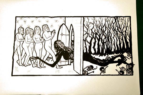 Doorway between hell and the world of men