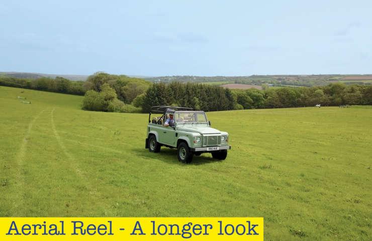 Aerial reel longer look