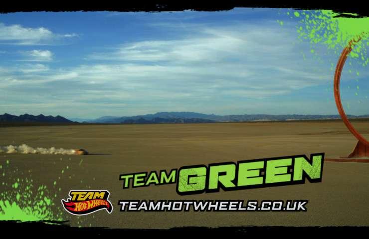 Hot Wheels 2012 Green