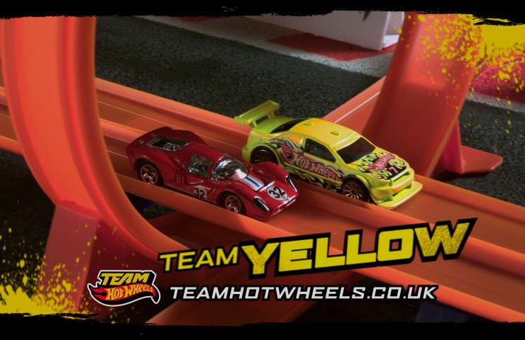 Hot Wheels 2012 Yellow