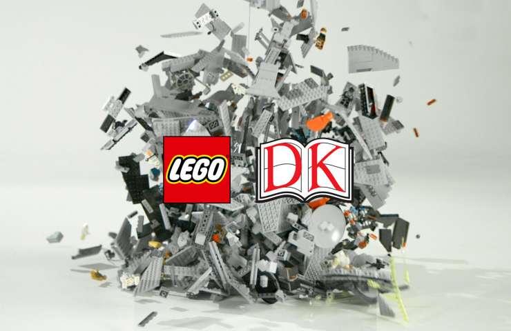 Lego Death Star with DK