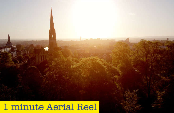 Preview 1 minute Aerial Reel